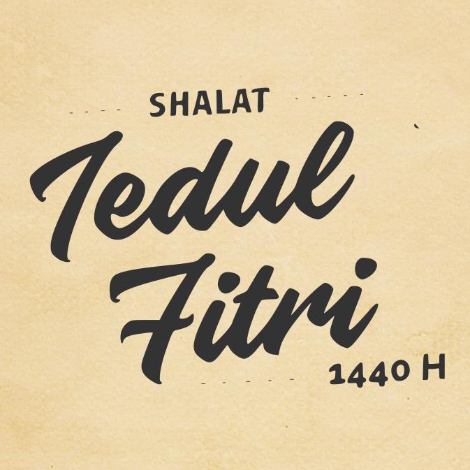 Shalat Idul Fitri 1 Syawal 1440 – Di Beberapa Wilayah Indonesia